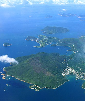 Clear Water Bay Peninsula - A bird's-eye view of southern part of Clear Water Bay Peninsula