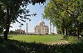 Taj Mahal - South-eastern View - Agra 2014-05-14 3947-3949 Compress.JPG