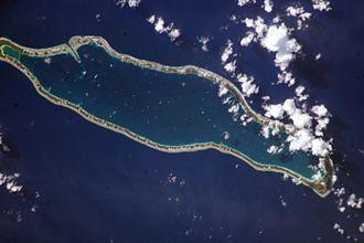 Takaroa - NASA picture of Takaroa Atoll