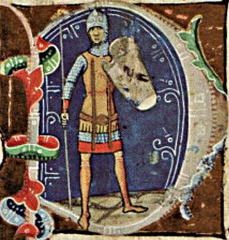 Taksony of Hungary - Depicted in the Illuminated Chronicle