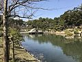 Takueichi Pond and Kokokyo Bridge in Shukkei Garden 7.jpg