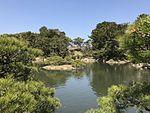 Takueichi Pond in Shukkei Garden 22.jpg
