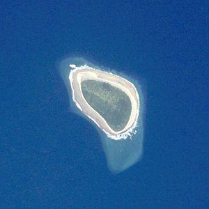 Takutea - NASA picture of Takutea Island