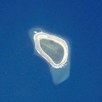 Takutea - NASA picture of Takutea Island