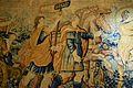 Tapís flamenc amb escena de triomf romà (detall), fumoir del palau del marqués de Dosaigües.JPG