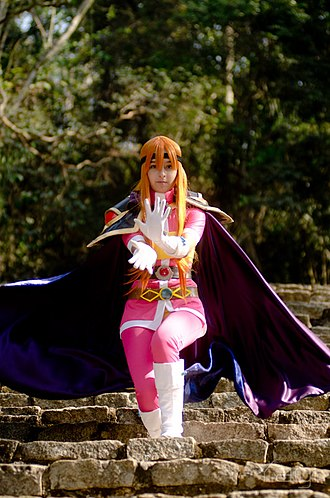 Lina Inverse - As a popular character, Lina has also became a subject of cosplay
