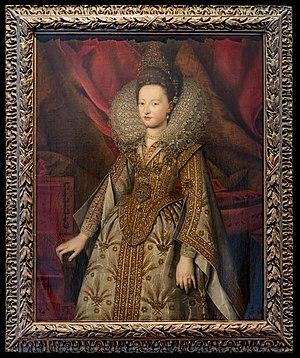 Isabella of Savoy - Image: Teatro Olimpico (Vicenza) Ritratto di Isabelle di Savoia d'Este A81 124,5x 100