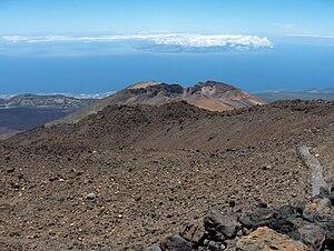 Pico Viejo - Crater of Pico Viejo.