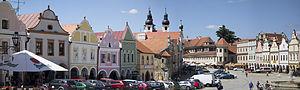 Telč - The Main Square