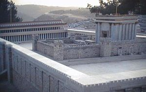 Model of the Herod's Temple (Israel Museum)
