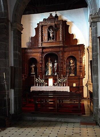 Tenerife Icod de los Vinos church D