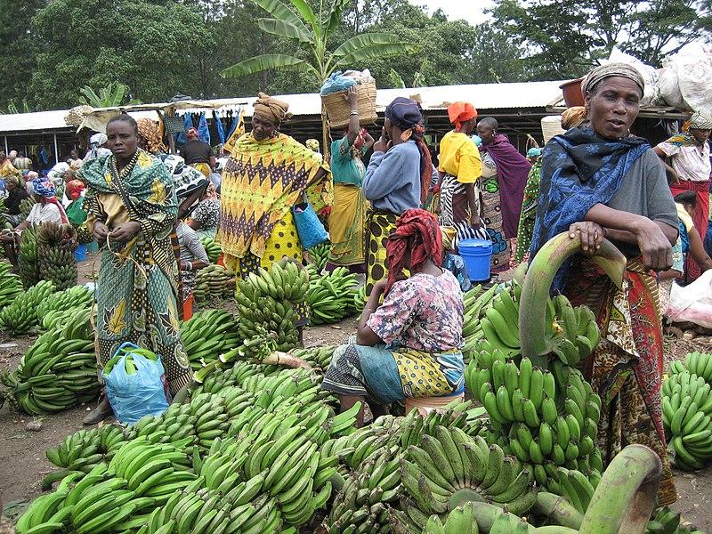 Tengeru market near Arusha, Tanzania