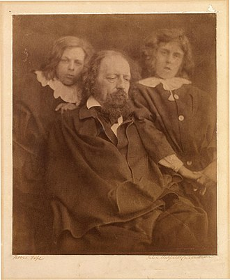 Hallam Tennyson, 2nd Baron Tennyson - Alfred, Lord Tennyson, and his sons Hallam (right) and Lionel.