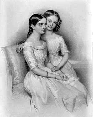 Milanollo - Teresa and Maria Milanollo toured Europe as a duo from 1838 to 1848.  Teresa was Maria's first and only violin teacher.