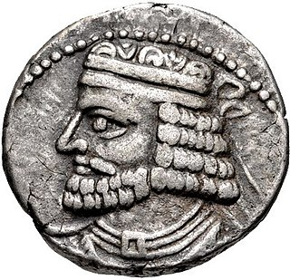 Vologases I of Parthia 1st century AD King of Kings of the Parthian Empire