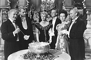 Agnes Moorehead - Richard Bennett, Joseph Cotten, Dolores Costello, Don Dillaway, Agnes Moorehead, and Ray Collins in The Magnificent Ambersons (1942)