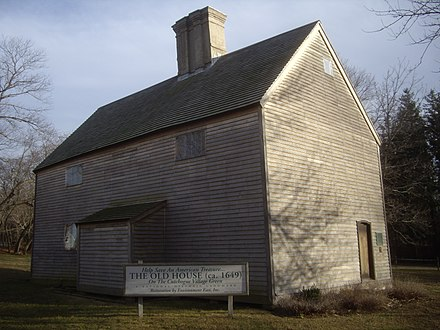 The Old House in Cutchogue, built 1649, is the oldest English-style house in the state. The-old-house-cutchogue.jpg
