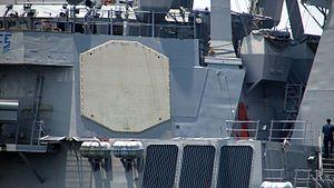 USS Paul Hamilton (DDG-60) - Image: The Antenna of the AN SPY 1 Radar
