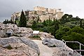 The Areopagus on a rainy afternoon. In the background the Acropolis.jpg