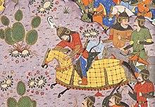 The Battle between Bahram Chubina and Sava Shah LACMA M.2009.44.1 (6 of 9).jpg