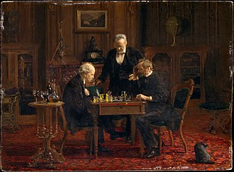 The Chess Players (Eakins painting) - Image: The Chess Players MET DT1506