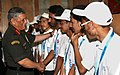The Chief of Army Staff, General Bipin Rawat interacting with the students from Jammu and Kashmir (supported by 'Kashmir Super 30' Project) who have qualified for the JEE (Main & Advance), 2017-18, in New Delhi.JPG
