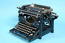 underwood typewriter company wikipedia. Black Bedroom Furniture Sets. Home Design Ideas