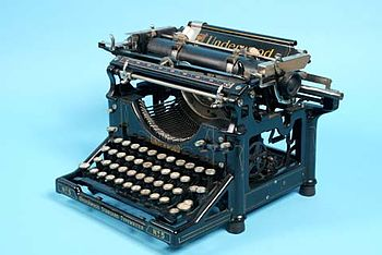 Underwood No. 5, in the collection of The Chil...