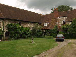 Hurley Priory - The Cloisters, a remnant of the Priory