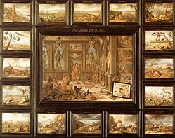 Jan van Kessel the Elder: The Four Continents: America