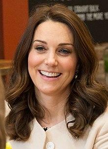 Una foto de Catherine, duquesa de Cambridge a la edad de 37 años.