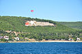 The Dur Yolcu Memorial on the hillside above Kilitbahir Gallipoli (8708801237).jpg
