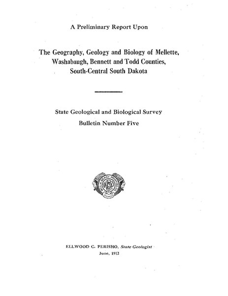 File:The Geography, Geology and Biology of Mellett, Washabaugh, Bennett and Todd Counties, South-Central South Dakota.pdf