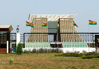 Government of Ghana - Image: The Golden Jubilee House