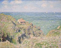 The Gorge at Varengeville by Claude Monet, 1882.JPG
