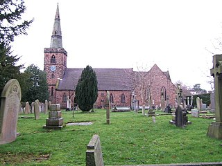 Holy Ascension Church, Upton by Chester Church in Cheshire, England