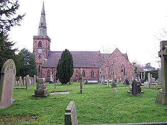 Listed buildings in Upton by Chester - Image: The Holy Ascension Church, Upton by Chester geograph.org.uk 664156