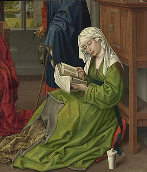 The Magdalen Reading - Image: The Magdalen Reading Rogier van der Weyden