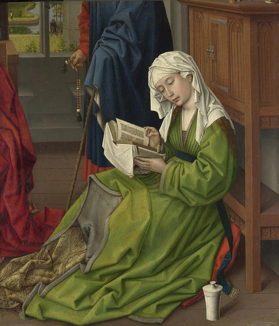 The Magdalen Reading - Rogier van der Weyden