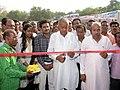 "The Member of Parliament, Shri Nand Kumar Singh Chouhan inaugurating the DAVP exhibition, at the ""Sabka Saath-Sabka Vikas Public Information Campaign"", organised by the PIB Indore, at Khandwa (MP) on October 15, 2014.jpg"