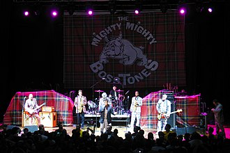 Ska punk - Ska punk band the Mighty Mighty Bosstones performing in 2008