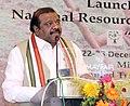 "The Minister of State for Tribal Affairs, Shri Jaswantsinh Sumanbhai Bhabhor addressing at the launch cum workshop of the National Resource Centre for Tribal livelihood ""Vanjeevan"", at Bhubaneswar, Odisha.jpg"