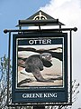 The Otter - pub sign - geograph.org.uk - 758793.jpg