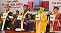 The President, Shri Ram Nath Kovind releasing the souvenir at the 1st Convocation of the National Institute of Food Technology Entrepreneurship & Management (NIFTEM), at Sonipat, in Haryana.jpg