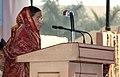 The President, Smt. Pratibha Devisingh Patil addressing at the inauguration of the 27th India International Trade Fair-2007, in New Delhi on November 14, 2007.jpg