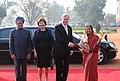 The President, Smt. Pratibha Devisingh Patil meeting the President of the Federal Republic of Germany, Dr. Horst Kohler at the ceremonial reception, at Rashtrapati Bhavan, in New Delhi on February 02, 2010.jpg
