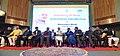 The Prime Minister, Shri Narendra Modi dedicates the 330 MW Kishanganga Hydropower Station to the Nation, at the Sher-i-Kashmir International Conference Centre (SKICC), in Srinagar.JPG