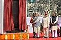 The Prime Minister, Shri Narendra Modi unveiling the plaque to dedicate Dr. Ambedkar International Centre to the Nation, at 15 Janpath, in New Delhi.jpg