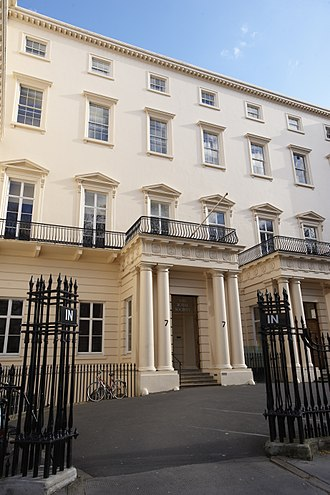 Fellow of the Royal Society - Headquarters of the Royal Society in Carlton House Terrace in London
