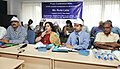 The SAARC Goodwill Ambassador for HIVAIDS, Ms. Runa Laila addressing the press conference, in New Delhi on August 02, 2013.jpg